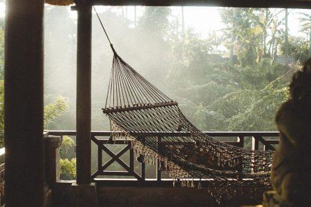 hammock in gazebo